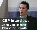 Interview with John Van Reenen on a Plan V for Growth