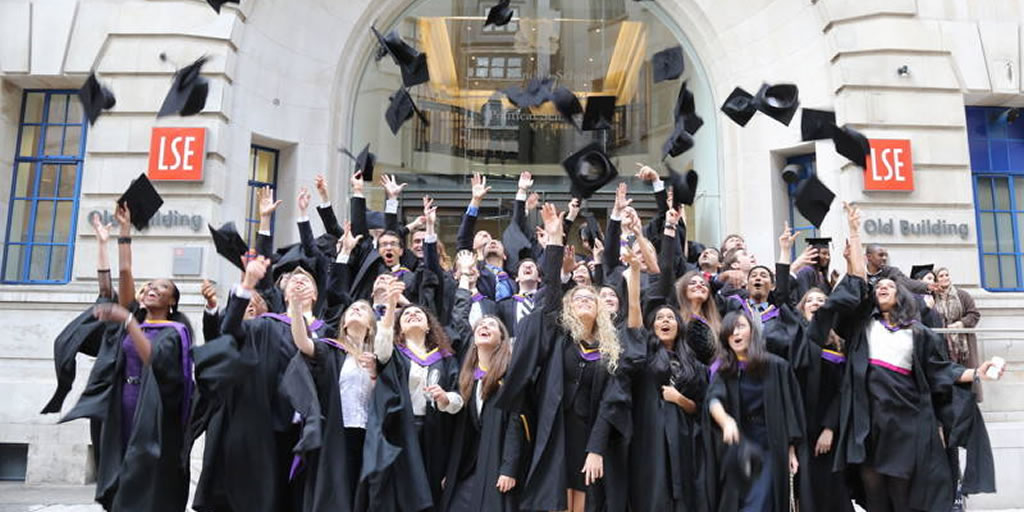 Image: LSE Graduation from LSE Bynder