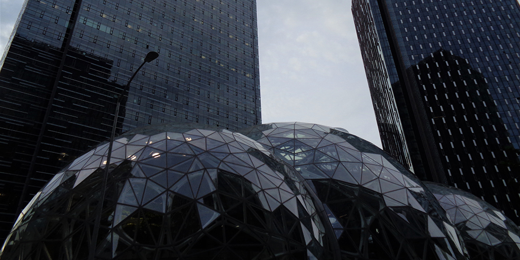 Photo of office buildings. Credit: Josiah Ferraro. Published under CC0 Public Domain. https://unsplash.com/photos/y0EHLZdn_yA