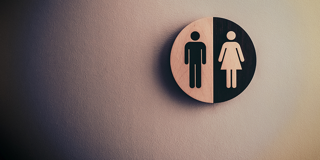 Photo of joint male and female signage. Published under CC0 Public Domain. https://unsplash.com/photos/UcUROHSJfRA