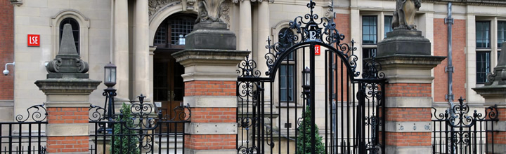 Front of the building where the Centre for Economic Performance at the LSE is based